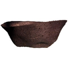 Telluride, Black Big Bowl, Centrepiece, Porcelain, Dark, Modern, Vessel