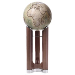 Tellus Globe, Green and Sycamore