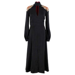 Temperley London Embellished Satin Dress XS