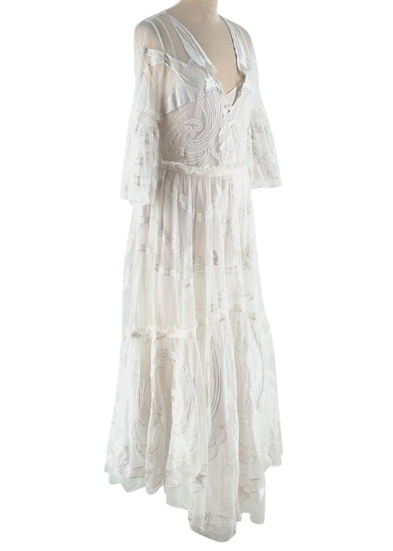 Temperley Embroidered tulle