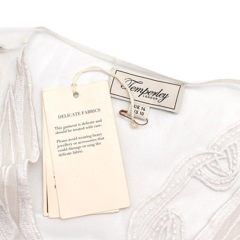 Women's or Men's Temperley London Embroidered Mast Midi Dress UK14 For Sale