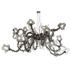 Temptation Chandelier 18-Light, Semi-Rezzonico Style by Multiforme