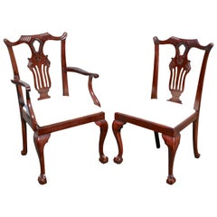 TEN American Chippendale Bicentennial Dining Chairs