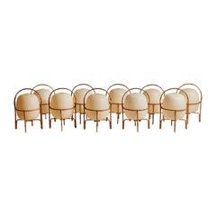 """Ten """"Cesta"""" Floor/Table Lamps by Miguel Milà"""