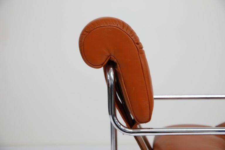 Ten Cognac Leather