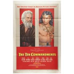 Ten Commandments, The '1956' Poster