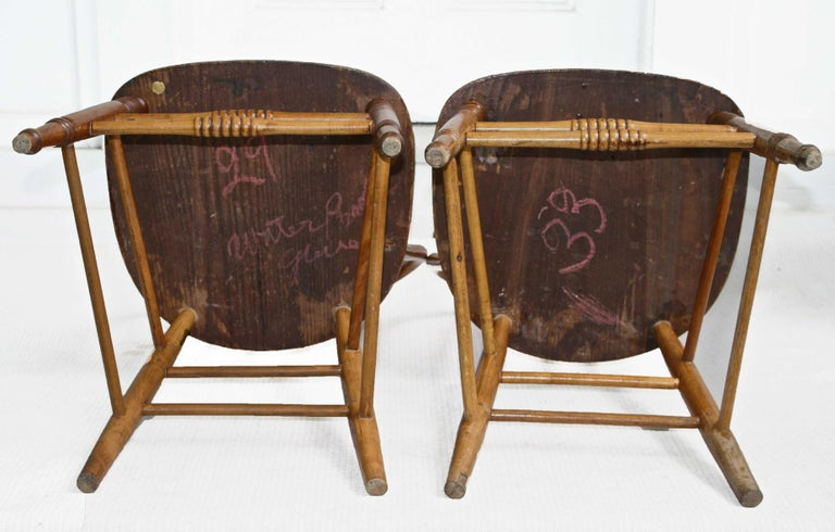TEN Connecticut Hoop Back Windsor Chairs For Sale 1