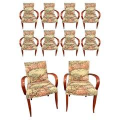 Dakota Jackson 'PFM' Dining Chairs, Set of Ten, 1970's
