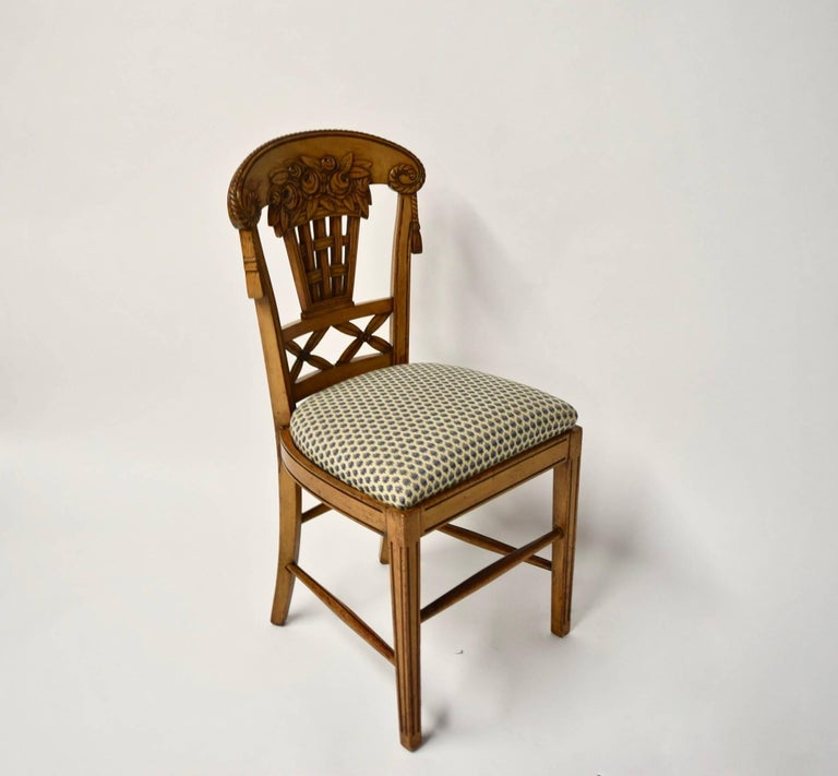 Ten Dining Chairs by André Groult, France, 1912 For Sale 4