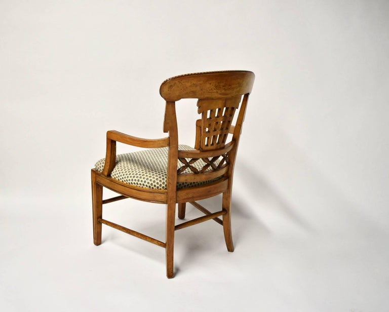 Ten Dining Chairs by André Groult, France, 1912 For Sale 11
