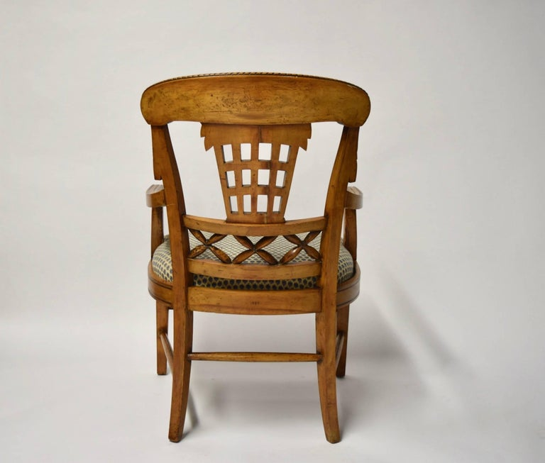 Ten Dining Chairs by André Groult, France, 1912 For Sale 12