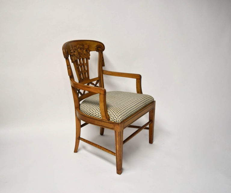 Ten Dining Chairs by André Groult, France, 1912 For Sale 13
