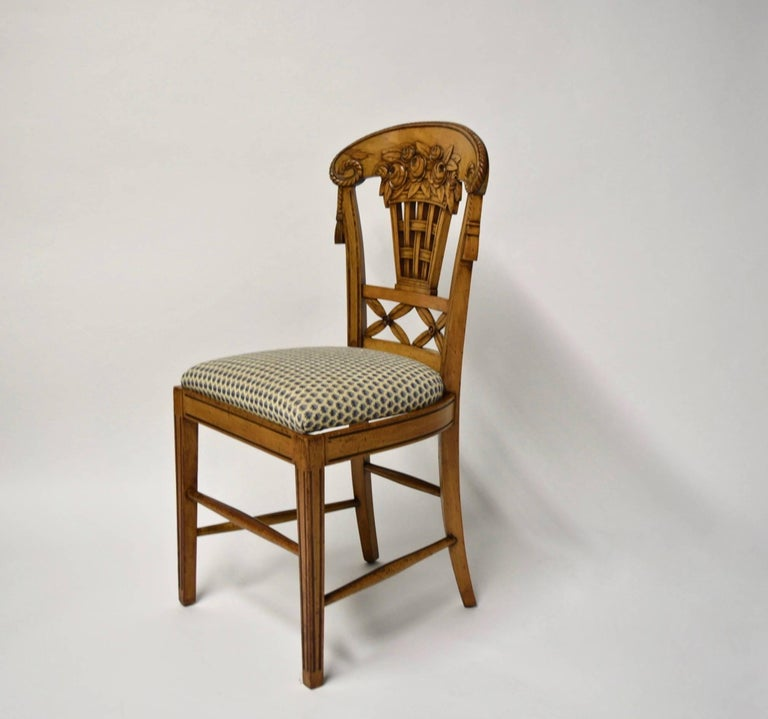 Early 20th Century Ten Dining Chairs by André Groult, France, 1912 For Sale