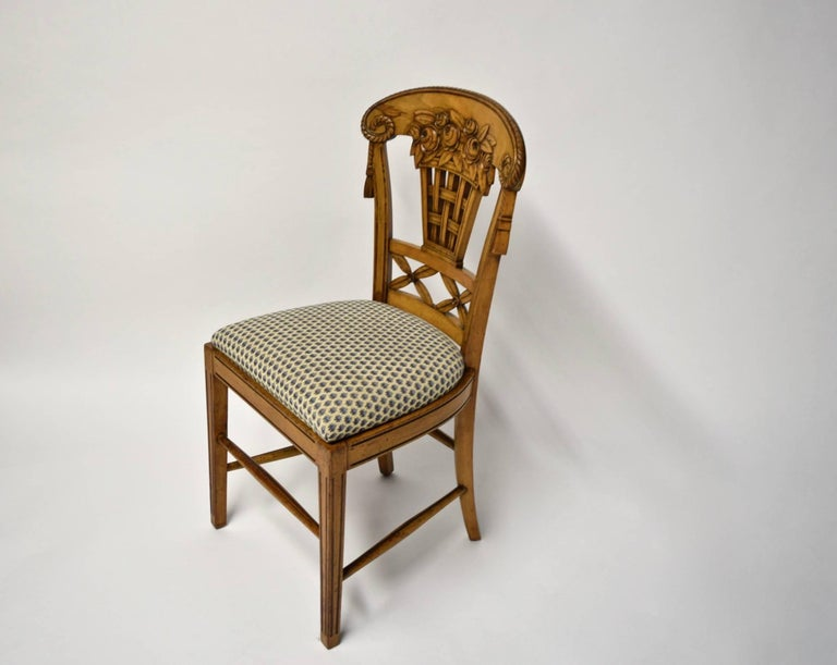Ten Dining Chairs by André Groult, France, 1912 For Sale 1