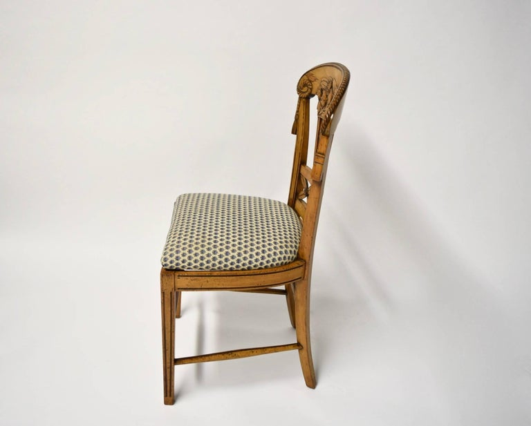 Ten Dining Chairs by André Groult, France, 1912 For Sale 2