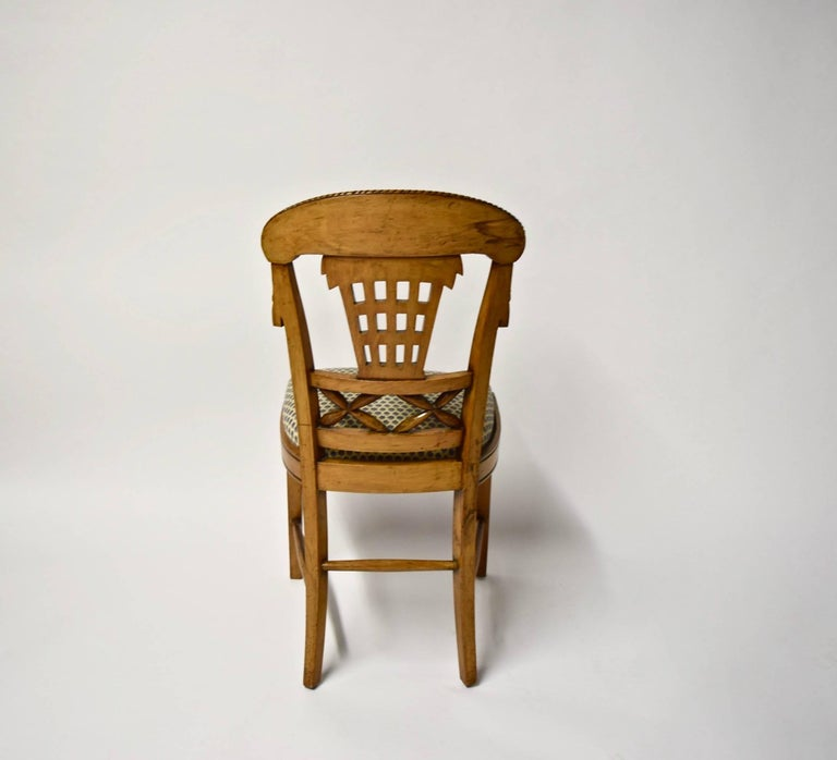 Ten Dining Chairs by André Groult, France, 1912 For Sale 3