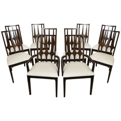 "Ten Mid-Century Modern Broyhill ""Brasilia"" Dining Chairs"