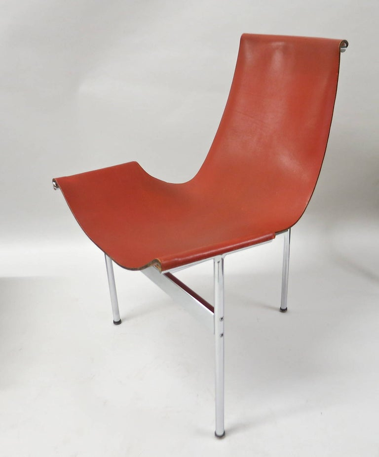 Mid-Century Modern Ten Original T-Chairs by Katavolos, Kelly, Littell for Laverne, 1967 For Sale