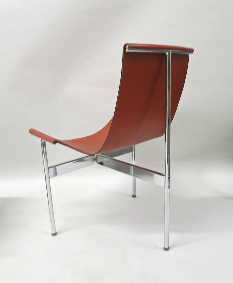 Mid-20th Century Ten Original T-Chairs by Katavolos, Kelly, Littell for Laverne, 1967 For Sale
