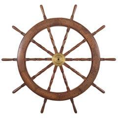 Ten Spoke Ship Wheel