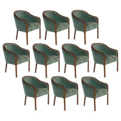 Ten Ward Bennett for Brickell Associates Armchairs