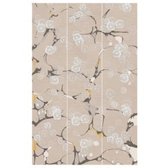 Tender Flora, Handmade Wallpaper