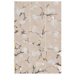 Tender Flora, Handmade Wallpaper