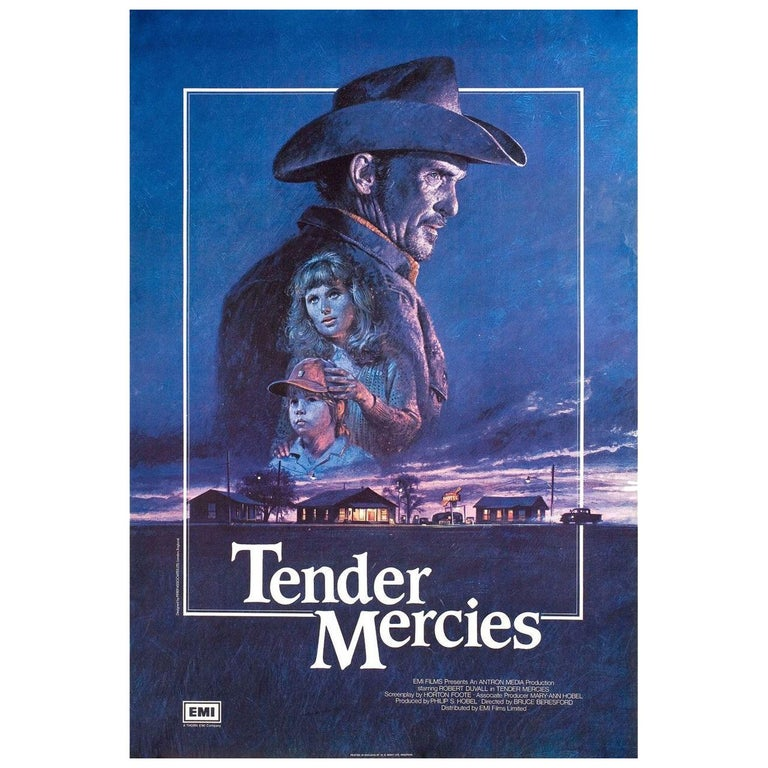 'Tender Mercies' 1983 British One Sheet Film Poster For Sale