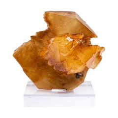 Elmwood Mine, Tennessee Calcite Crystals on Acrylic Base