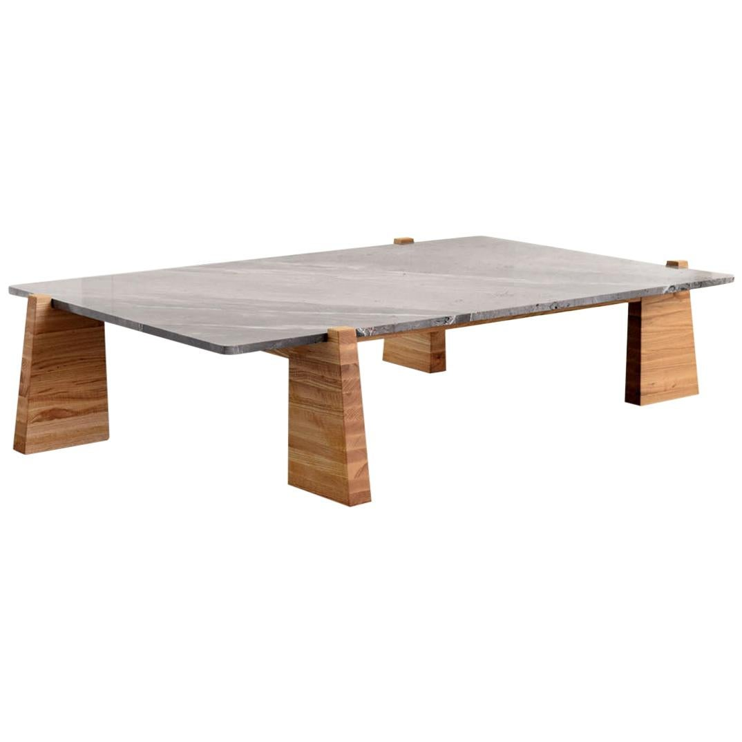 """Teoca"" Coffee Table with Marble Top"