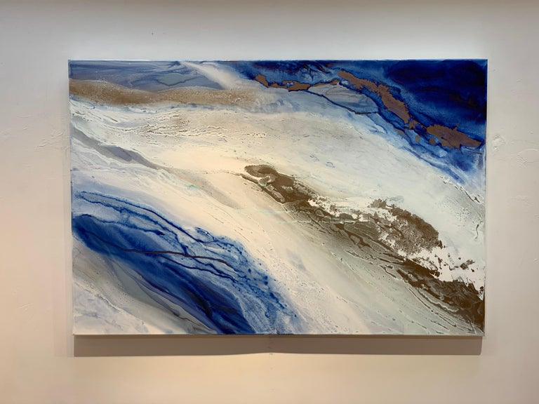 Teodora Guererra Abstract Painting - Sea Dance