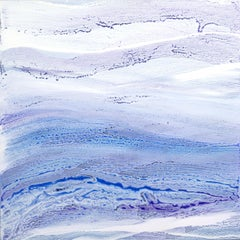 'Ultra Violet I', Large contemporary abstract painting