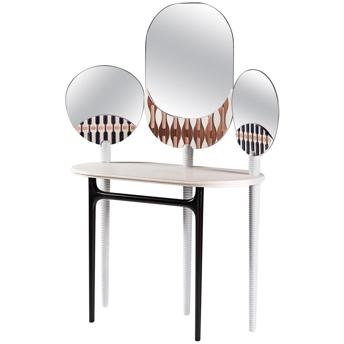 Teodora Vanity Dressing Table by Elena Salmistraro