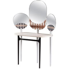 Teodora Vanity Dressing Table by Elena Salmistraro