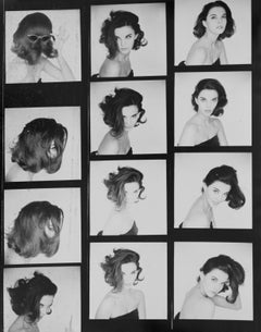Margot McKendry, Contact Sheet - Terence Donovan (Black and White Photography)