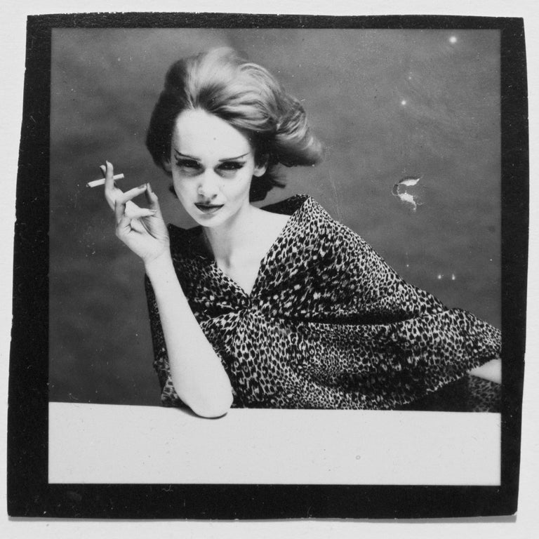 Vintage silver gelatin contact print Framed with cream mount Image size: 2.25 x 2.25 inches Frame size: 8 x 8 inches  Provenance: The Terence Donovan Archive  Born into a working class family in East London, Terence Donovan (1936-1996) came to