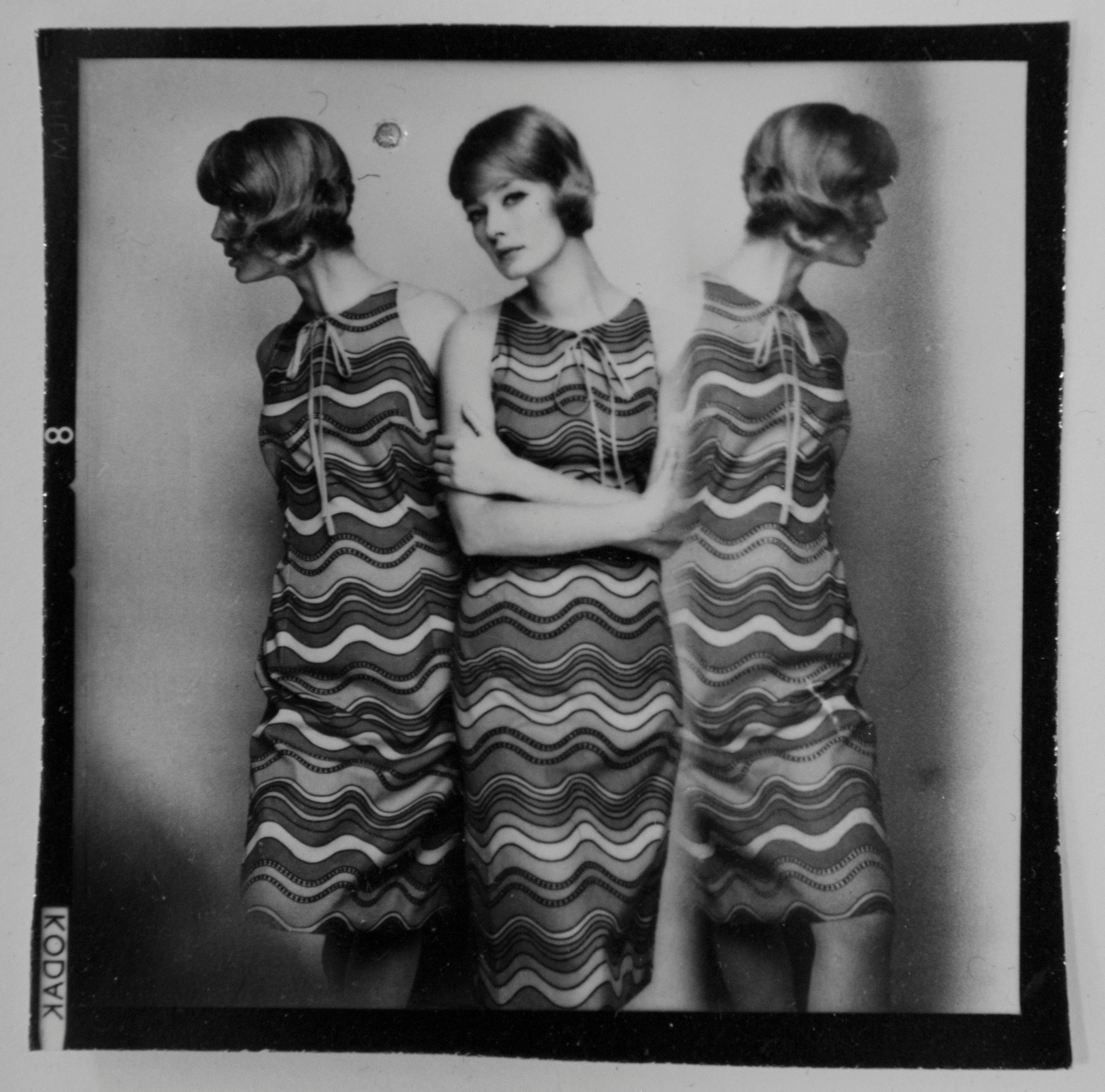 Tania Mallet, Fashion Shoot for Harper's Bazaar, 1 April 1964- Terence Donovan