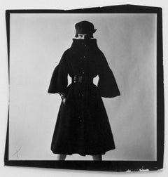 Viriginia Wynn-Thomas Wearing a Ronald Paterson Coat, 18 August 1959