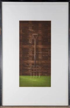 Terence Millington (b.1943) - Contemporary Aquatint, The Fork
