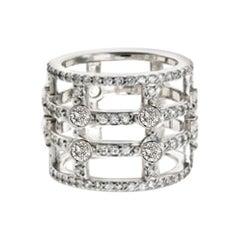 Teresa Large Banded Cage Ring