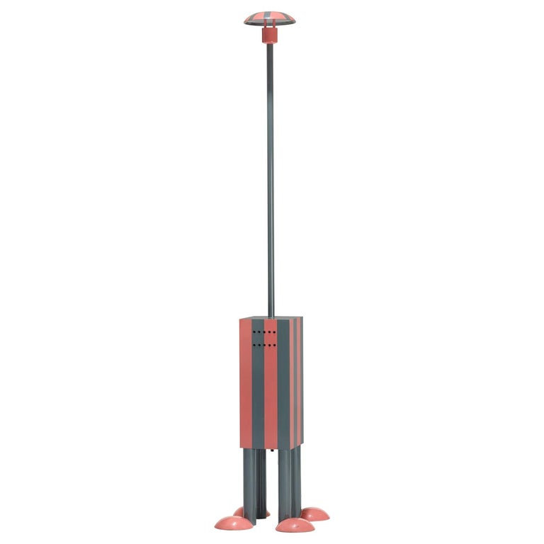 Terminus Floor Lamp 'EU 220 Volts', by Martine Bedin from Memphis Milano For Sale