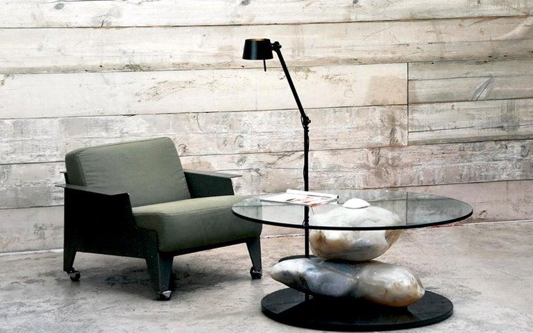 Contemporary Terra, Alabaster Coffee Table by Amarist Design Studio Unique Piece For Sale