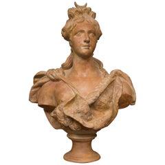Terracotta Bust of Italian Nobility