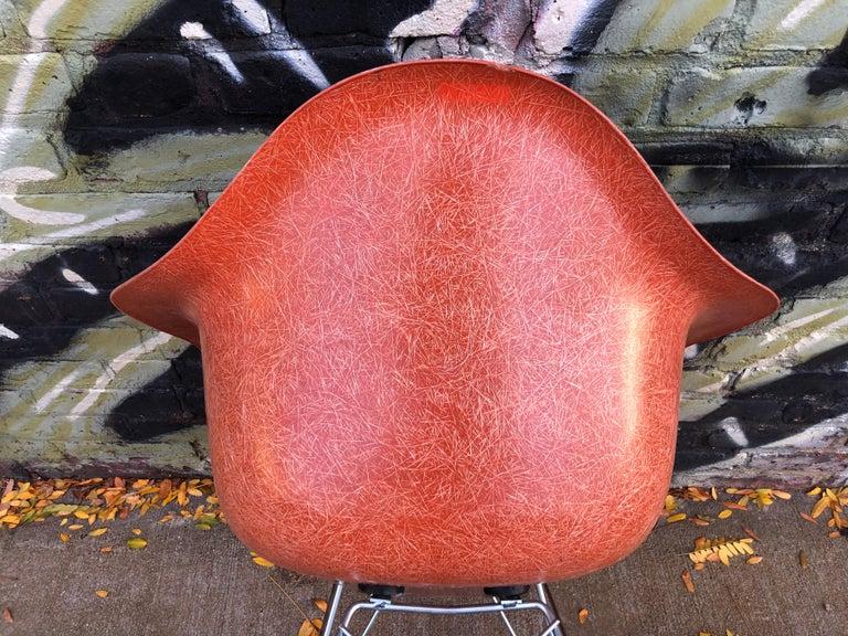 Terracotta Herman Miller Eames RAR Rocking Chair For Sale 2
