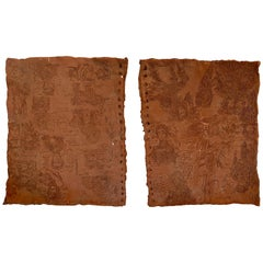 Terracotta Sketch Book Panels