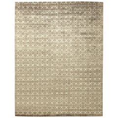 Terra Light Gray Rug in Natural Wool