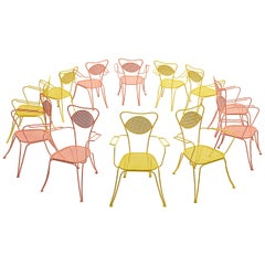 Terra Rosa Orange Patio Outdoor Chair