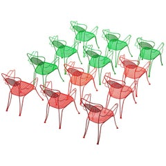 Terra Rosa Red Patio Outdoor Chair