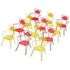 Terra Rosa Yellow Patio Outdoor Chair