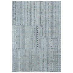 Terra Rug in Natural Wool and Silk